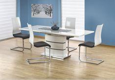 Comfort Line Bútoráruházak Table Extensible, Office Desk, Corner Desk, Modern, Dining Table, Chair, Interior, Inspiration, Furniture