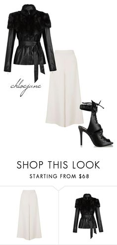 """""""Untitled #72"""" by chloeeej ❤ liked on Polyvore featuring Topshop, sass & bide and Schutz"""