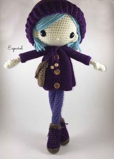 Emilia Amigurumi Doll Crochet