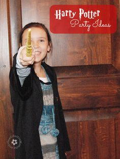 Harry Potter Party Ideas {OneCreativeMommy.com} #harrypotterparty