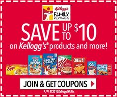 Kellogg's Family Rewards - Join & Get 200 More Points PLUS Kellogg's Coupons! - http://dealmama.com/2017/07/kelloggs-family-rewards-join-get-200-points-plus-kelloggs-coupons/