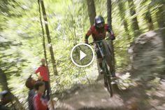 Watch The Yt Mob World Tour Lands At Windrock In Tennessee Singletracks Mountain Bike News Bike News Bike Trips Mountain Biking
