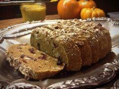 Nouveau Raw's Pumpkin Cranberry Bread