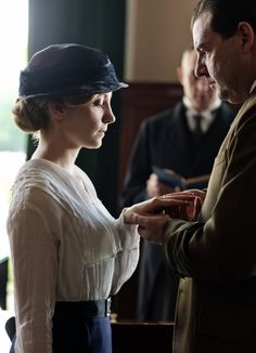 Anna and Mr. Bates | Downton Abbey