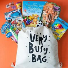 The Best Kids Travel Activity Bag - Very Busy Bag – VeryBusyBag