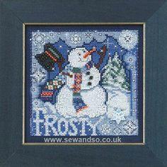 Buy Frosty Snowman online at sewandso.co.uk