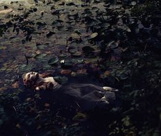 "The Look: Hamlet - ""I Was the More Deceived"" featuring Lily Conyngham photographed by Eve North. #pre-raphaelite"