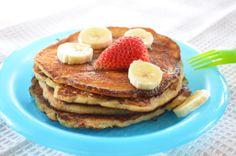 Paleo pancakes yummy. Dairy free, wheat free and refined sugar free.