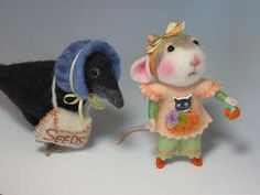 Buttons By Robin : Handmade Buttons For Sewing, Knitting, Scrapbooking and more!: Halloween Mouse and My Cat Buttons