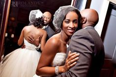 after wedding photos, getting married in nashville, african american bride, b hughes bridal, reem acra, #blackbride, #tennesseebride, #nashvillewedding, photos by @Roland Hernandez'S Photography