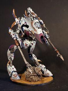 Wraithknight / Dark Eldar / Mechwarrior Conversion