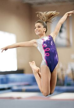 gymnastics teen girl