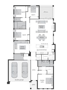 Sandalford Floor Plan - KITCHEN LAYOUT