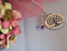 Unique OOAK Tree of Life Family Personalized by DeniseDionDesigns, $35.00
