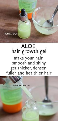 Natural Remedies For Hair Growth Aloe vera is a wonderful natural treatment for your hair. It helps to treat dandruff, protect the hair, moisturize and condition for a healthy hair growth. Aloe vera can be used in many different ways Hair Growth Tips, Healthy Hair Growth, Natural Hair Growth, Natural Hair Styles, Natural Beauty, Baking Soda Shampoo, Baking Soda Uses, Dry Shampoo, Clarifying Shampoo