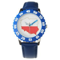 Your Custom Bezel with Blue Numbers Watch