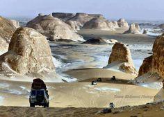 Aqabat valley (white desert) - Egypt