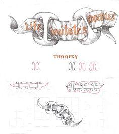 Thoofen by molossus aka Sandra Strait of Life Imitates Doodles
