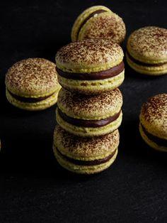 Csokoládé Reformer: Mogador macaron Essie, Macarons, Doughnut, Recipies, Muffin, Favorite Recipes, Meals, Cookies, Breakfast
