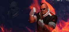 Heavy D' KOF'98 OL Wallpaper by Zeref-ftx