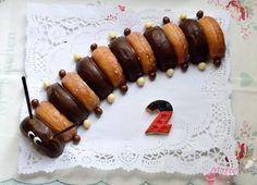 Gusano de donuts   Comparterecetas.com