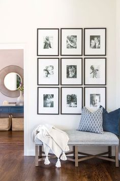 Ways To Use That Room Below Your Stairs Masculine, Comfortable, And Elegant: A California Home By Lauren Evans Interiors Rue Home Living Room, Living Room Decor, Living Spaces, Bench In Living Room, Living Room Gallery Wall, Dining Decor, Entryway Decor, Home Interior, Interior Design