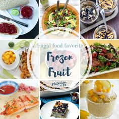 Frozen Food | Frozen Vegetables | Frozen Fruit | Healthy Food | Frozen Meal | Nutrition | Nutritious | Recipes | Registered Dietitian | Healthy | Frugal | Affordable | Fast | Convenient | Easy