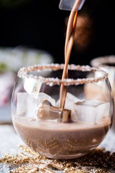 The North Pole Cocktail. The North Pole Cocktail.,Delicious Cocktails The North Pole. prep time: 10 MINUTES total time: 15 MINUTES yields: Makes 4 Drinks Save Print  Ingredients The North Pole 4 ounces vodka. Chocolate Martini, Chocolate Syrup, Chocolate Cocktails, Chocolate Party, Hot Chocolate, Festive Cocktails, Holiday Cocktails, Holiday Alcoholic Drinks, Christmas Mocktails