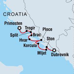 Sail Croatia Dubrovnik To Primosten in Croatia, Croatia - Lonely Planet