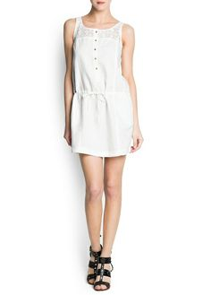 The perfect LWD {little white dress}!
