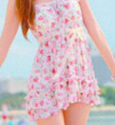 A beautiful summer dress