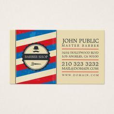 Barber shop business card pinterest barber shop business cards vintage barber shop business card wajeb Choice Image