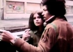 Jimi Hendrix and Uschi Obermaier.
