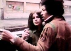Jimi Hendrix and Uschi Obermaier.