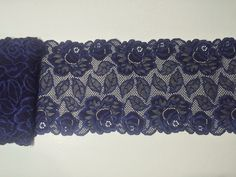 Scolloped Venise lace in Navy Blue or Pink  Crafts Sewing Costume Corsetry