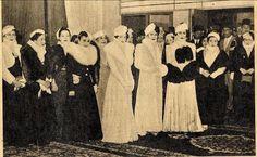 HM Queen Farida at a Formal Occasion