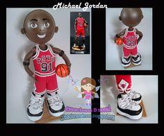 creaciones D Moni: Michael Jordan fofucho fomi 3D
