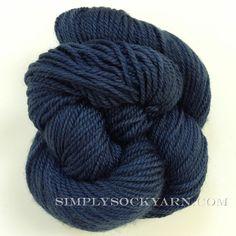 Simply Socks Yarn Company - SSY Solid 670 Navy, $11.00 (http://www.simplysockyarn.com/ssy-solid-670-navy/)