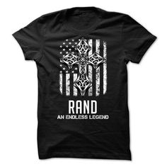 RAND - An Endless Legend - #unique gift #graduation gift. SECURE CHECKOUT => https://www.sunfrog.com/Names/RAND--An-Endless-Legend.html?68278