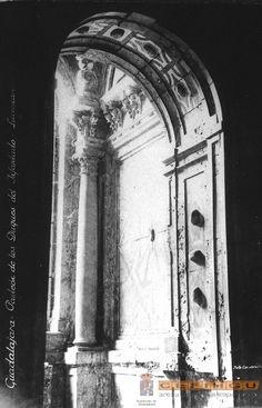 Cripta de los Mendoza antes de trabajos de restauración. Si queréis contactar con Guiados, para gestionar visitas a Guadalajara o Alcalá de Henares, lo podéis hacer a través de la web www.guiadosenguadalajara.es o ✆ 679 97 65 03.