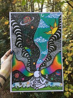 Tienes un mejor amigo que se llama Tristan  y sus hermanos son tony y… #romance # Romance # amreading # books # wattpad Psychedelic Drawings, Trippy Drawings, Cool Art Drawings, Flower Drawings, Cute Canvas Paintings, Small Canvas Art, Mini Canvas Art, Buy Canvas, Art Paintings