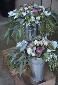 Swallows Nest Farm: Soft Pinks and Greens for a January Wedding