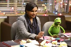 Batch of new images for the #Christmas episode of #TheMuppets featuring #MindyKaling