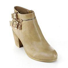 DBDK ADOHIA-1 Women Side Zipper Buckle Strap Almond Toe Chunky Heel Bootie, Color:TAUPE, Size:7.5 DbDk http://www.amazon.com/dp/B00NIFCGYW/ref=cm_sw_r_pi_dp_A4ytwb17NDBDA