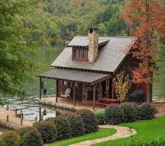 A Casa  do Lago …