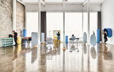 Noise is the essential problem for the office workers, especially in the open plan spaces. It is responsible for the lack of concentration and decreased efficiency of office teams. Soundproofing Material, Open Space Office, Office Team, Acoustic Panels, Sound Proofing, Open Plan, Office Furniture, Contemporary, Wall