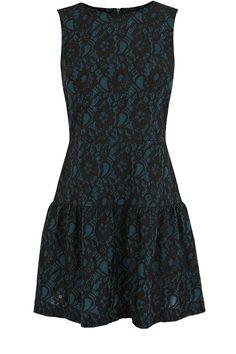 Oasis | Bonded Lace Drop Waist Dress