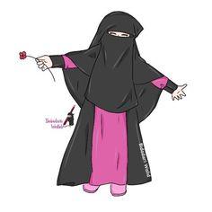 I love hijab . Anime Muslim, Muslim Hijab, Muslim Girls, Muslim Women, Dc Superhero Girls Dolls, Baby Hijab, Cute Love Images, Hijab Drawing, Moslem