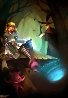 alice and co by `loish on deviantART