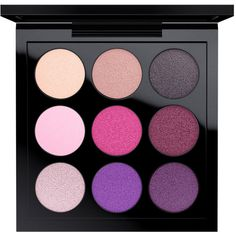 Eye Shadow X 9 Runway Worthy MAC Cosmetics Official Site ($32) ❤ liked on Polyvore featuring beauty products, makeup, eye makeup, eyeshadow, beauty, eyes, filler, palette eyeshadow, mac cosmetics eyeshadow and mac cosmetics